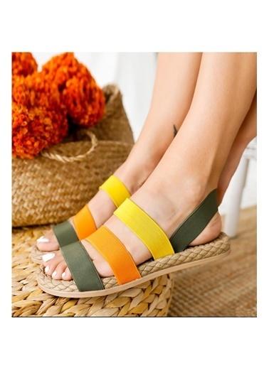 Muggo Sandalet Yeşil